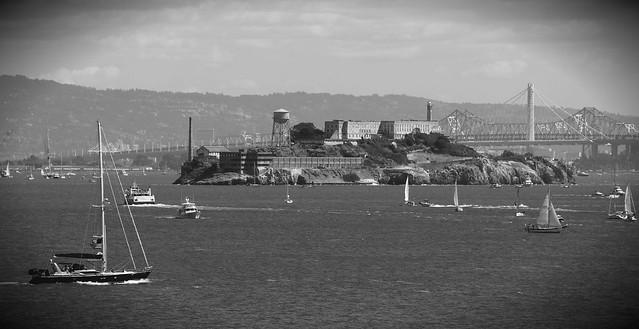 B&W Alcatraz Americas Cup Final