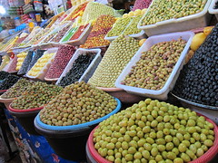Olives in the souke, Fes, Morocco (Stephen Armitage) Tags: morocco rabat