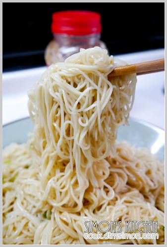 蔥油麵線10