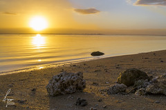 Couch de Soleil Saline les bains (DroneCopters) Tags: sunset sky beach island soleil lumire sable plage rayons ombres couchdesoleil ledelarunion vision:sunset=099 vision:beach=056