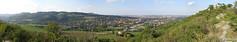 Bologna e prima valle del Savena dalla Dolina della Spipola (Daisuke Ido) Tags: trees houses panorama alberi valle railway case hills valley bologna dolina colline ferrovia savena spipola rastignano sanruffillo