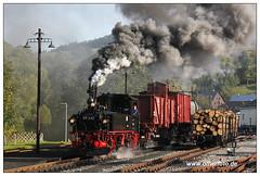 Preßnitztalbahn (olherfoto) Tags: railroad train eisenbahn rail railway trains steam bahn gauge narrow steamtrain narrowgauge dampflok dampfzug schmalspurbahn museumsbahn presnitztalbahn