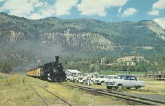 D&RGW Narrow Gauge (tico_manudo) Tags: ferrocarriles railways usa vintage postalesantiguas estadosunidos rockwood colorado locomotives drgwlocomotives