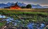 The Stream (Jeff Clow) Tags: travel nature landscape stream western grandtetonnationalpark mormonrow theoldwest jacksonholewyoming moultonbarn ©jeffrclow dirtcheapphototours jeffclowphototour