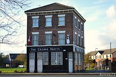 The Crown Vaults (kev thomas21) Tags: uk england building abandoned liverpool pub derelict merseyside kirkdale