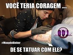 Justin Bieber Tattoo Artist (mayaneketelyndasilva) Tags: new nyc justin usa ny newyork tattoo ink mouse artist muscle side east lower bang eastside parlor tattooing palour bieber yor bangbang swaggy