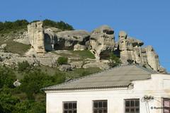 Бахчисарай, Ханский дворец, вид на горы