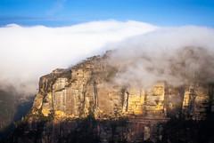 Phantom Falls (Felix Baum) Tags: mist landscape bluemountains