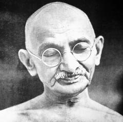 Father of the Indian Nation (Nagarjun) Tags: india gujarat ahmedabad gandhiji mahatmagandhi mohandaskaramchandgandhi sabarmatiashram vision:people=099