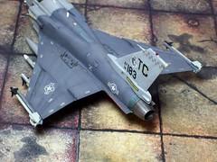 "1:72 Northrop Grumman-IAI F-24A ""Tigerhawk"" (a.k.a. ""נמר / Namer""), s/n 14-0183 of 318th FIS, United States Air force (USAF); McChord AFB, Tacoma (WA); 2014 (whif/kitbashing/tribute work) (dizzyfugu) Tags: grey freedom washington fighter technology force iai aircraft aviation air united gray wing replacement next f16 tacoma states usaf generation active 172 interceptor export fictional whatif grumman f24 northrop x29 f20 iaf namer x53 whif kitbashing tigerii f24a f24i"