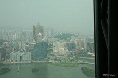 Macau Tower: Grand Lisboa (mickyj_photos) Tags: china macau macautower