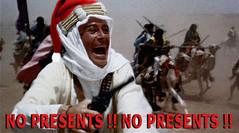 HAPPY HORRORDAYS - THE TRICK, IS IN NOT MINDING THAT IT'S CHRISTMAS (zero g) Tags: santa christmas xmas satire australia melbourne camel presents arabia robjan fm lawrenceofarabia zerog robertjan 3rrr davidlean 3rrrfm noprisoners peterotoole