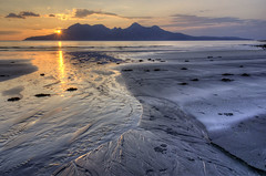 Last Light at Laig Bay, Isle of Eigg - Ric Harding