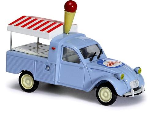 Norev Citroën 2CV AZ pick up