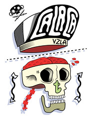 habla claro menor (.:CALACA:.) Tags: illustration mexico design venezuela adobe illustrator arrow calavera zapopan venezuala calaca