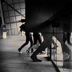 Legs (CorH) Tags: street city portrait people urban blackandwhite bw white black monochrome blackwhite belgium belgie candid streetphotography antwerp antwerpen straatfotografie corh