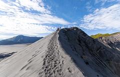On the edge of a volcano (Fil.ippo) Tags: mountain indonesia landscape volcano java nikon filippo bromo vulcano d5000 filippobianchi {vision}:{outdoor}=0988 {vision}:{sky}=0722 {vision}:{mountain}=0812 {vision}:{ocean}=052 {vision}:{street}=0581