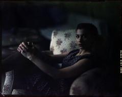 a sunset (thodoris markou) Tags: portrait film analog xpro crossprocessed lowlight kodak 4x5 ektachrome largeformat rotary processor graflex speedgraphic jobo epn 6121 cpe2 aeroektar 178mmf25