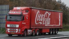 NL - Van Rijen >Coca-Cola< Volvo FH GL03 (BonsaiTruck) Tags: volvo cola camion trucks coca fh lorries lkw rijen gl03