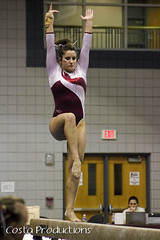 Carley Carter - Beam (Erin Costa) Tags: ladies college tx kitty arena gymnast gymnastics lions tumble denton twu magee centenary lindenwood