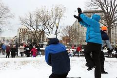 March 3, 2014  Snowball Fight  at Dupont Circle (The Katalina Chronicles) Tags: snow snowball dupontcircle actionshot dcsnowballassociation