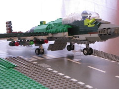 A-14 landing (.Tyler H) Tags: turkey fighter lego jet camo landing cannon bombs missles a14 4d4garrison