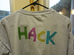 Fusing Plastic to T-Shirts by Harley School Learner, on Flickr