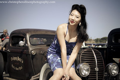 Pinup Sunny Young - ChristopherAllisonPhotography-3389 (christopherallisonphotography) Tags: auto girls portrait lamp girl wheel vintage allison outdoors lights mirror model women automobile pretty dolls amy sony engine police retro tires bumper chrome blond blonde rockabilly hood motor el alpha gals viva pinup delmar kustom a300 white goodguys classic cars car san christopher hot show diego photography light rod wall natural model mayhem kustomculture cajon cops rodders