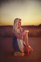 Simone Botha (ClaireGunnPhoto) Tags: sunset red portrait ballet en girl town ballerina shoes blonde cape pointe
