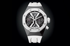 Audemars Piguet: Royal Oak Offshore Concept Tourbillon GMT из белой керамики