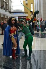 Wonder Woman Green Arrow (theatregirl25) Tags: chicago nerd place geek mccormick 2014 c2e2 chicagocomicandentertainmentexpo april2014 copyrightangelamartin pleaseaskpermissionbeforeusingmypictures