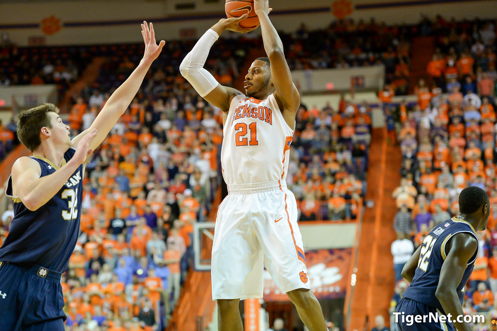 Clemson Photos: Damarcus  Harrison, 20142015, Basketball