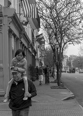 bit of a grimace (photoboy2005) Tags: street bw sc children nikon flags charleston d80