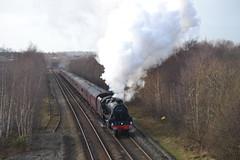 Cumbrian Mountain Express (Gerry Rudman) Tags: mountain class express carlisle lms cumbrian 5mt 45407 harraby