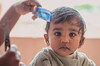 First Haircut (Karunyaraj) Tags: baby haircut cute hair 50mm kid child sigma jaden firsthaircut sigma50mm cuteeyes homehaircut babyphotography indianbaby sigmaart sigma5014art