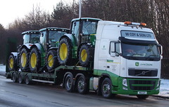 W Coy & Son (W10COY) (KS Transport Photography.) Tags: volvo hull johndeere garrisonroad a63 wcoyson w10coy