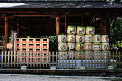 Important Cultural Cow Shed (pokoroto) Tags: autumn japan cow october shed  nara kansai cultural important 2014 10    naraprefecture  kannazuki   themonthwhentherearenogods 26