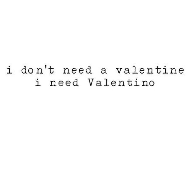 But I actually have both! Win win! Booyah! HAPPY VALENTINEs Day to all, hope you spend it with what or whom you love! #vday #happyvalentinesday #Qotd #valentino