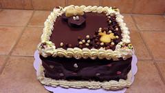 Gâteau chocolat (Claire Coopmans) Tags: mouse belgium belgique chocolate ganache disney minnie chocolat gâteau pâtisserie