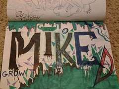 grow (MisTrEE3) Tags: graffiti paint paintings arts grow canvas panels graff painters miked the70s fr8 mikedgraffiti mikedtrains