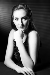 SKL-2015-Ali Film Noir-92 (Si Longworth (Army Photographer)) Tags: film monochrome studio noir fuji photoshoot amy retro ali 40s studiolights xt1 continuouslight continuouslighting dsop silongworthphotography amyhowel