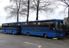 Tantivy 19 & 5 (Coco the Jerzee Busman) Tags: uk blue bus islands coach camo renault cannon jersey swift dennis tours dart channel leyland lcb plaxton tantivy