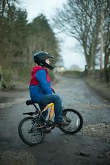 M near Baildon Moor (Robert L Whitehead) Tags: leica family boy field bike bicycle kids walking 50mm countryside track walk farm yorkshire m moor footpath summilux drystone bingley baildon m240 eldwick gilstead