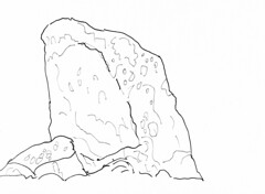 Addington Long Barrow (Doilum) Tags: stone standing kent drawing stones chamber burial medway megaliths neolithic megalith dolmen sarsen