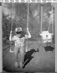 AV (Maija Karisma) Tags: polaroid negative instant 4x5 51 expired pola graflex expiredfilm peelapart polaroidback sheetfilm growngraphic instantback littlebitbetterscan
