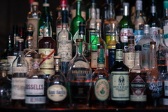 Spirits (daniellih) Tags: seattle 50mm restaurant washington bottle drink drinks alcohol april ballard 2016 canonbody stoneburner freelensing daniellih