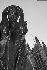 Burghers of Calais (detail) by Rodin (Jeff G Photography - jeffgphoto@outlook.com) Tags: statue housesofparliament parliament rodin burghersofcalais victoriatowergardens
