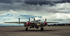 B-25 Mitchell (Maxinux40k) Tags: california history vintage spring nikon antique wwii airplanes may worldwarii ww2 mountainview nikkor bombers moffettfield b25 moffit 2016 collingsfoundation northamericanb25mitchell moffettfederalairfield afs35mmf18ged mitchellcipriano wingsoffreedomnationwidetour