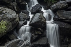 Washed (Sam Loranson) Tags: longexposure shadow vacation holiday water rock contrast canon landscape flow photography eos waterfall gray hard taiwan sunny glad taipei washed pure  blast coldspring ndfilter happness waterspring ef24105f4lisusm nd16 5d3 flickrunitedaward 5dmarkiii