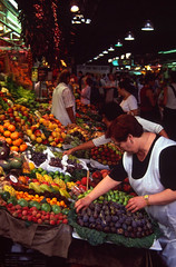 La Boqueria (ClydeHouse) Tags: barcelona 2002 spain slide scan larambla laboqueria byandrew